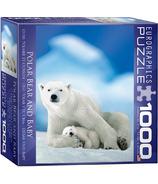 Eurographics Polar Bear and Baby Puzzle