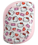 Tangle Teezer Compact Styler Detangling Hairbrush Hello Kitty Candy Stripes