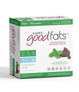 Suzie's Good Fats Mint Chocolate Chip Snack Bars