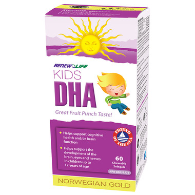 Renew Life Norwegian Gold Kids DHA