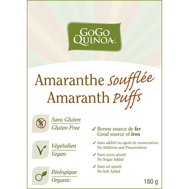 GoGo Quinoa Amaranth Puffs