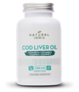 Natural Immix Cod Liver Oil Softgels