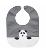 Mally Designs Panda Leather Bib