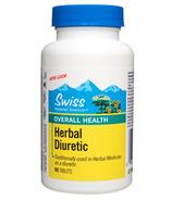 Swiss Natural Herbal Diuretic Tablets