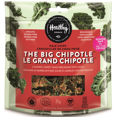 Healthy Crunch Kale Chips The Big Chipotle