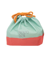 Takenaka Bento Box Bag Mint & Coral