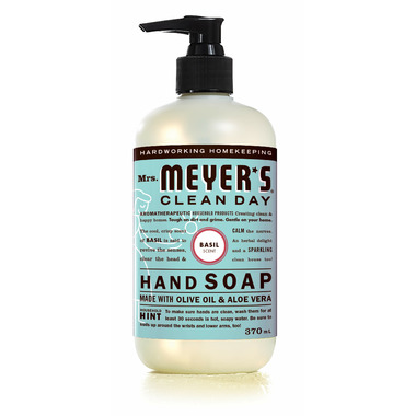 Mrs. Meyer\'s Clean Day Hand Soap Basil