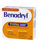 Benadryl TOTAL Allergy & Sinus Caplets