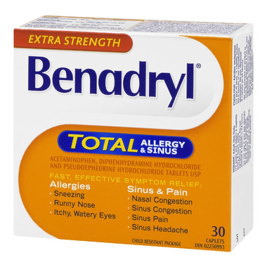 buy benadryl d allergy plus sinus
