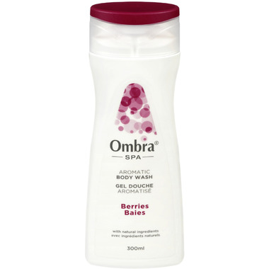 Ombra Spa Aromatic Body Wash Berries