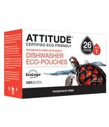 ATTITUDE Dishwasher Eco-Pouches