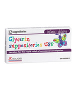 Rougier Children Glycerin Suppositories