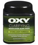 OXY Clarifying Medicated Acne Pads