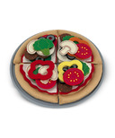 Melissa & Doug Felt Play Food Pizza Set