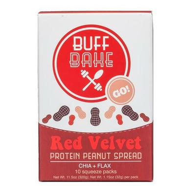 Buff Bake Peanut Butter Single Servings Red Velvet
