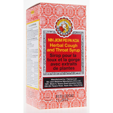 Nin Jiom Pei Pa Koa Cough & Throat Syrup