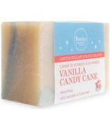 Rocky Mountain Soap Co. Vanilla Candy Cane Bar Soap
