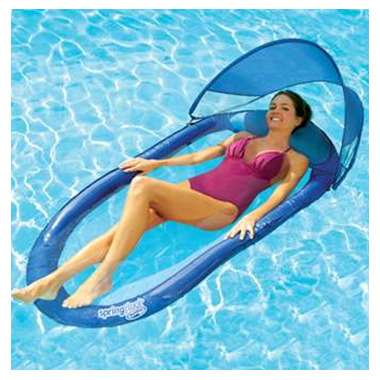 Buy Swimways Spring Float With Canopy At Well Ca Free