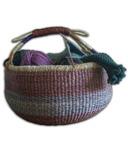 Alaffia Handwoven African Market Basket