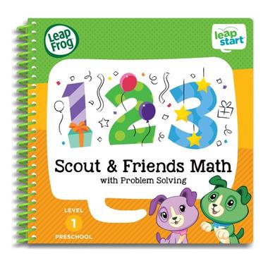 LeapFrog LeapStart Preschool Math Activity Book: Scout & Friends Math