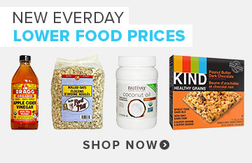 New Everyday Lower Food Prices at Well.ca!
