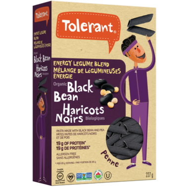 Tolerant Organic Black Bean Penne Pasta