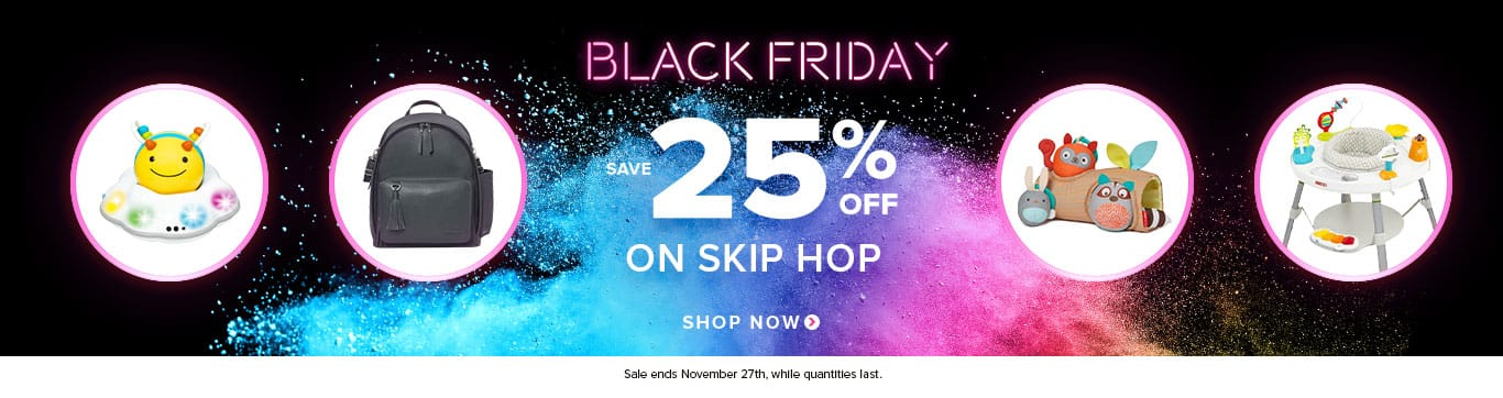 Save 25% on Skip Hop- Black Friday