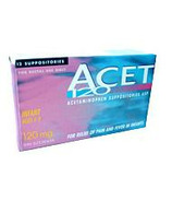 ACET Acetaminophen Suppositories
