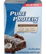 Pure Protein Dark Chocolate Coconut Protein Bar