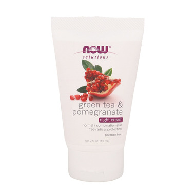 NOW Solutions Green Tea & Pomegranate Night Cream
