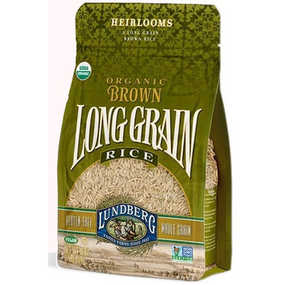 Buy Lundberg Organic Long Grain Brown Rice 907 g Online in