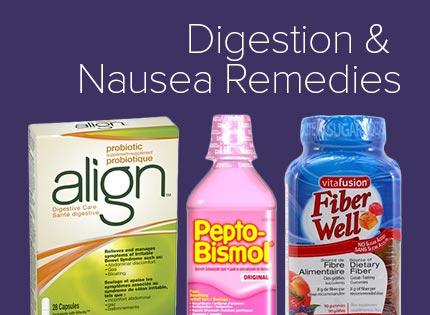 Digestion, Nausea & Probiotics