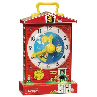Fisher-Price Classic Teaching Clock