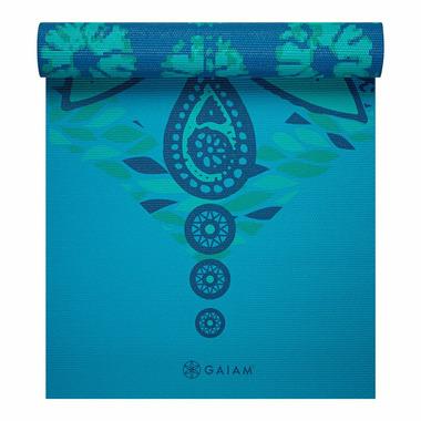 Gaiam Reversible Print Yoga Mat 5 mm Reflection
