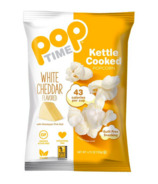 Pop Time White Cheddar Kettle Cooked Popcorn