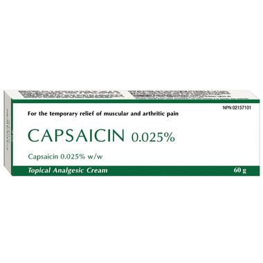 Capsaicin 0.025%