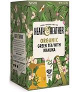 Heath & Heather Organic Green Tea & Manuka Honey