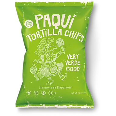 Paqui Tortilla Chips Very Verde Good