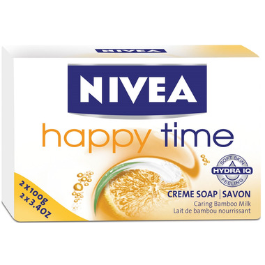 Nivea Happy Time Creme Soap Bar