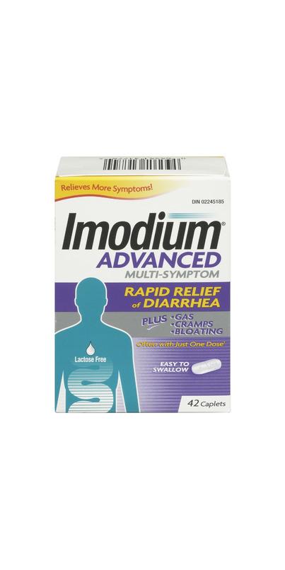 Buy Imodium Advanced 42 Caplets Online in Canada | FREE ...