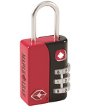 Maple Leaf Travel TSA Approved 3 Dial Combo Lock