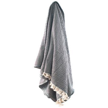 Stray & Wander Reve Blanket Black