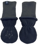 Calikids Long Cuff No Thumb Mitts Black