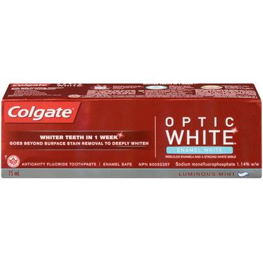 Colgate Optic White Enamel White Toothpaste