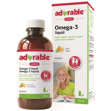 Wampole Adorable Omega 3 Liquid
