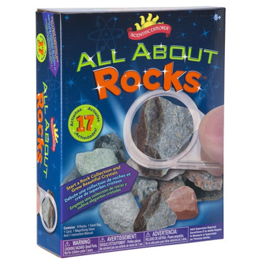 Scientific Explorer All About Rocks Mini Lab