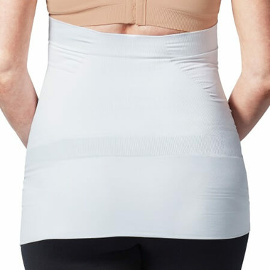 Bravado Designs Belly and Back Multizone Pregnancy Support Band White