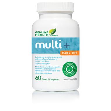Genuine Health Multi+ Daily Joy