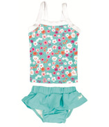Banz Two Piece Tank Swimsuit Floral