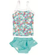 Banz Two Piece Tank Swimsuit Floral